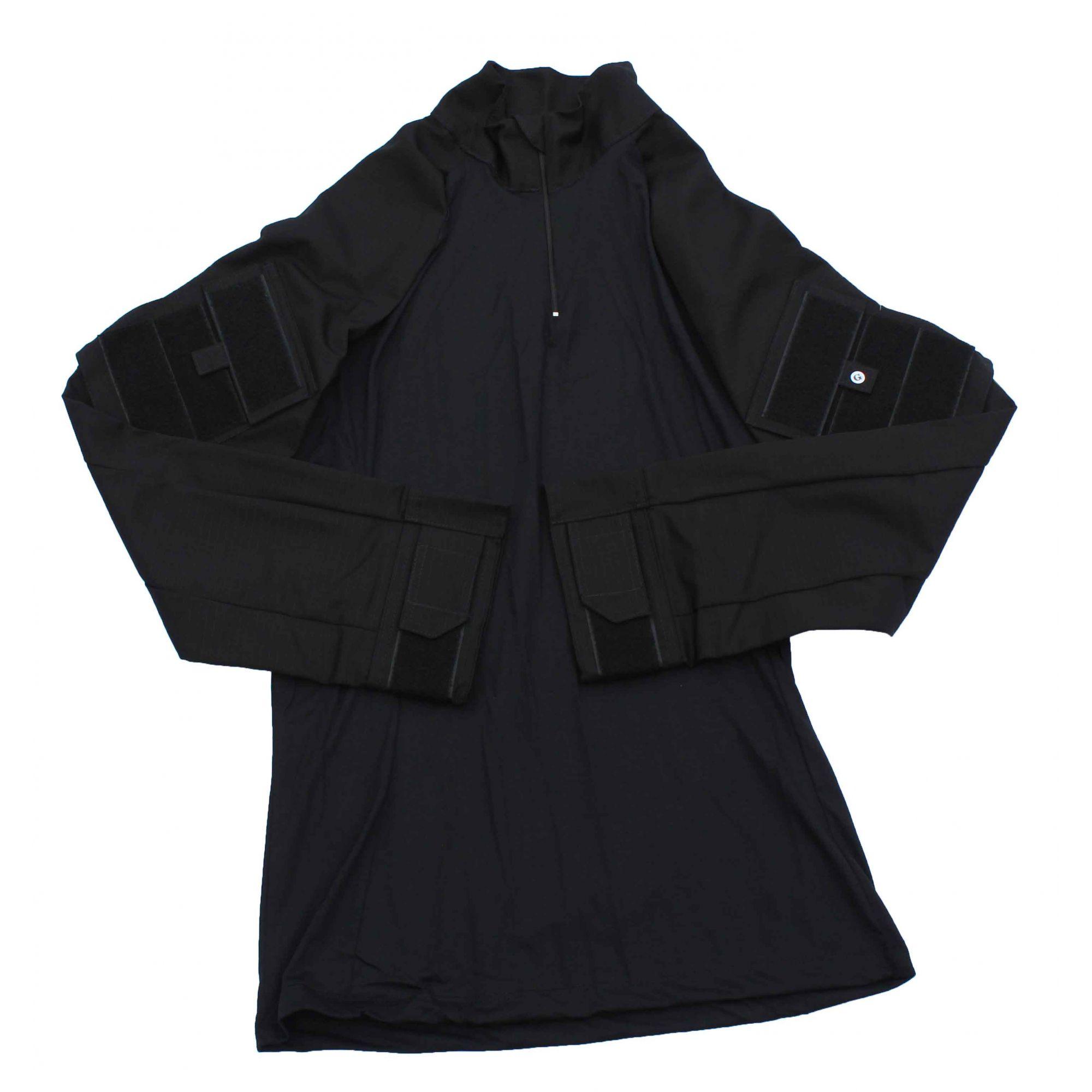 Combat Shirt Tática - Preta