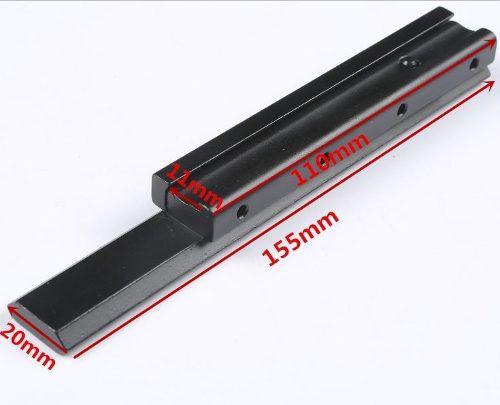 Elevador De Trilho 14 Slots 11mm Para 20mm