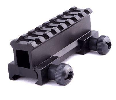 Elevador De Trilho Aluminio 8 Slots