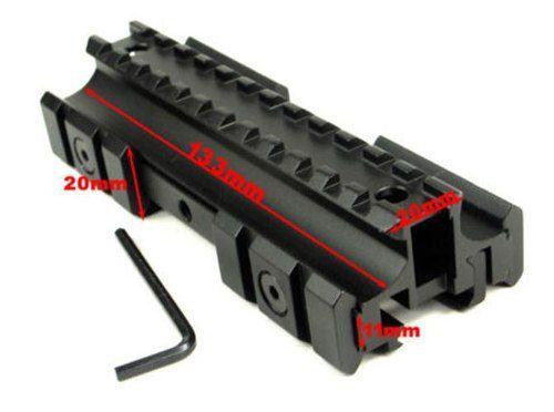 Elevador De Trilho E Adaptador 11mm E 20mm