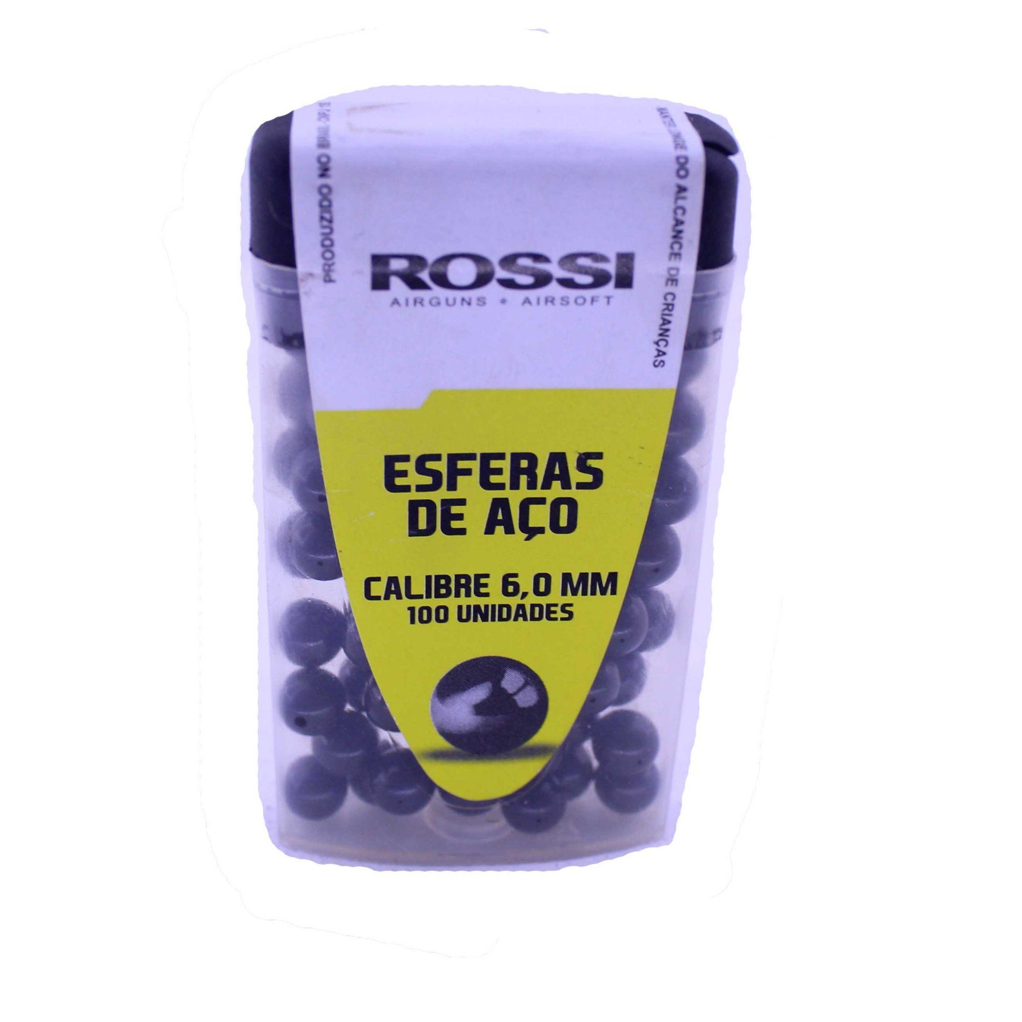 Esferas de Aço Rossi Preta 6mm