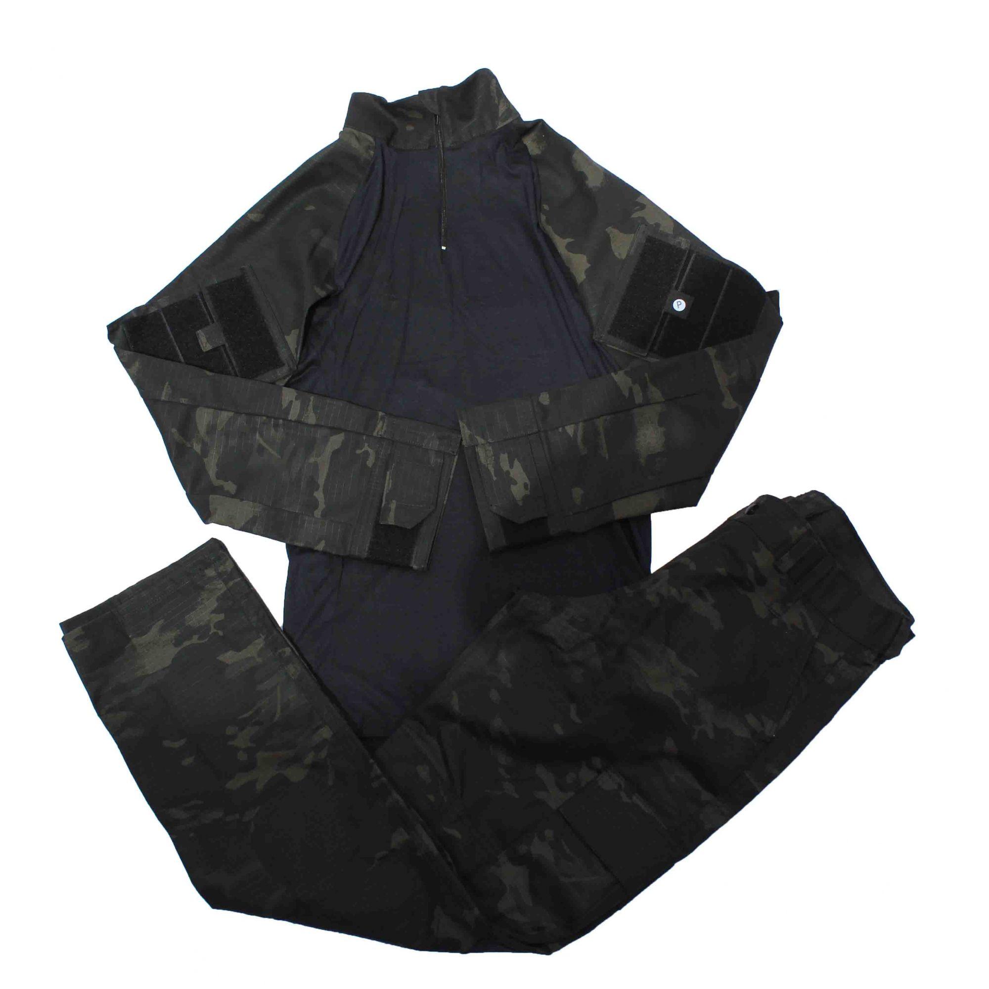 Fardamento Tático - Multicam Black