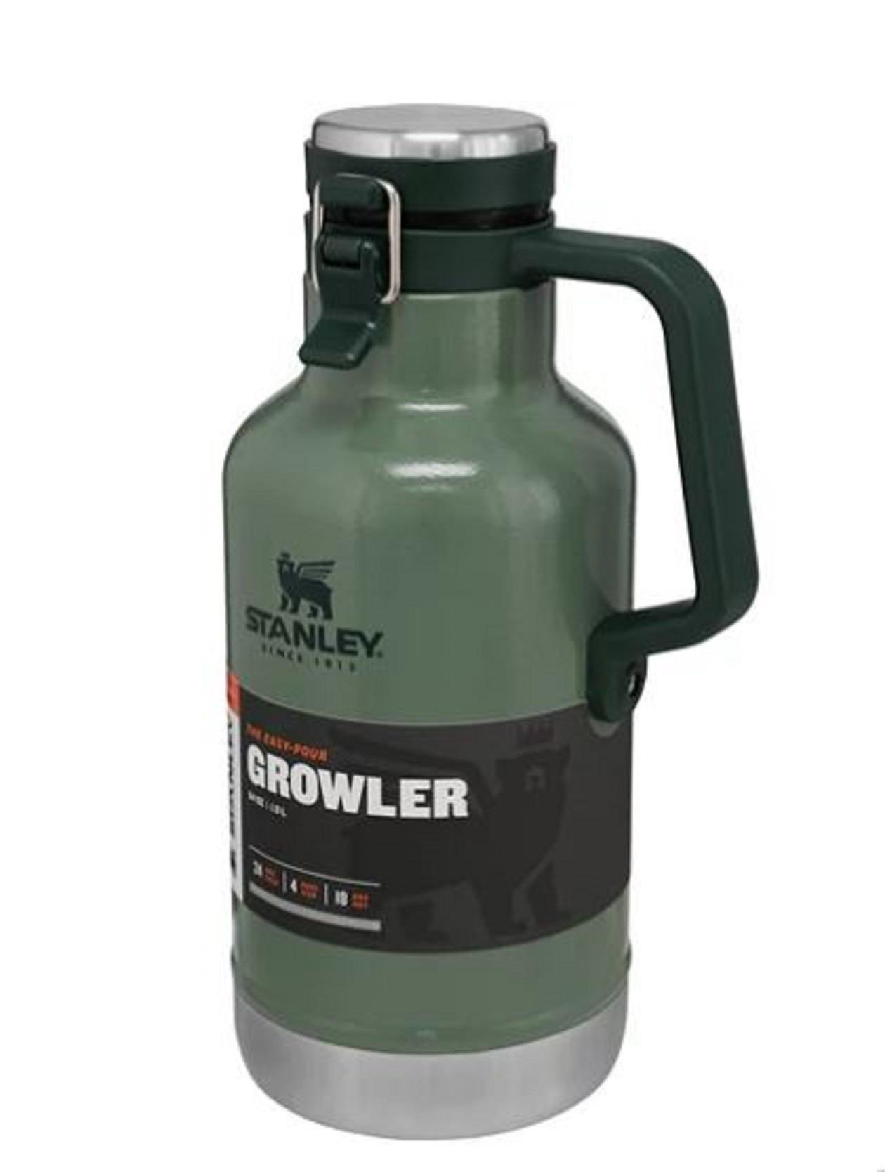 Garrafa Térmica Classic Growler Stanley 1,9L (24h Gelado / 4 dias com gelo)