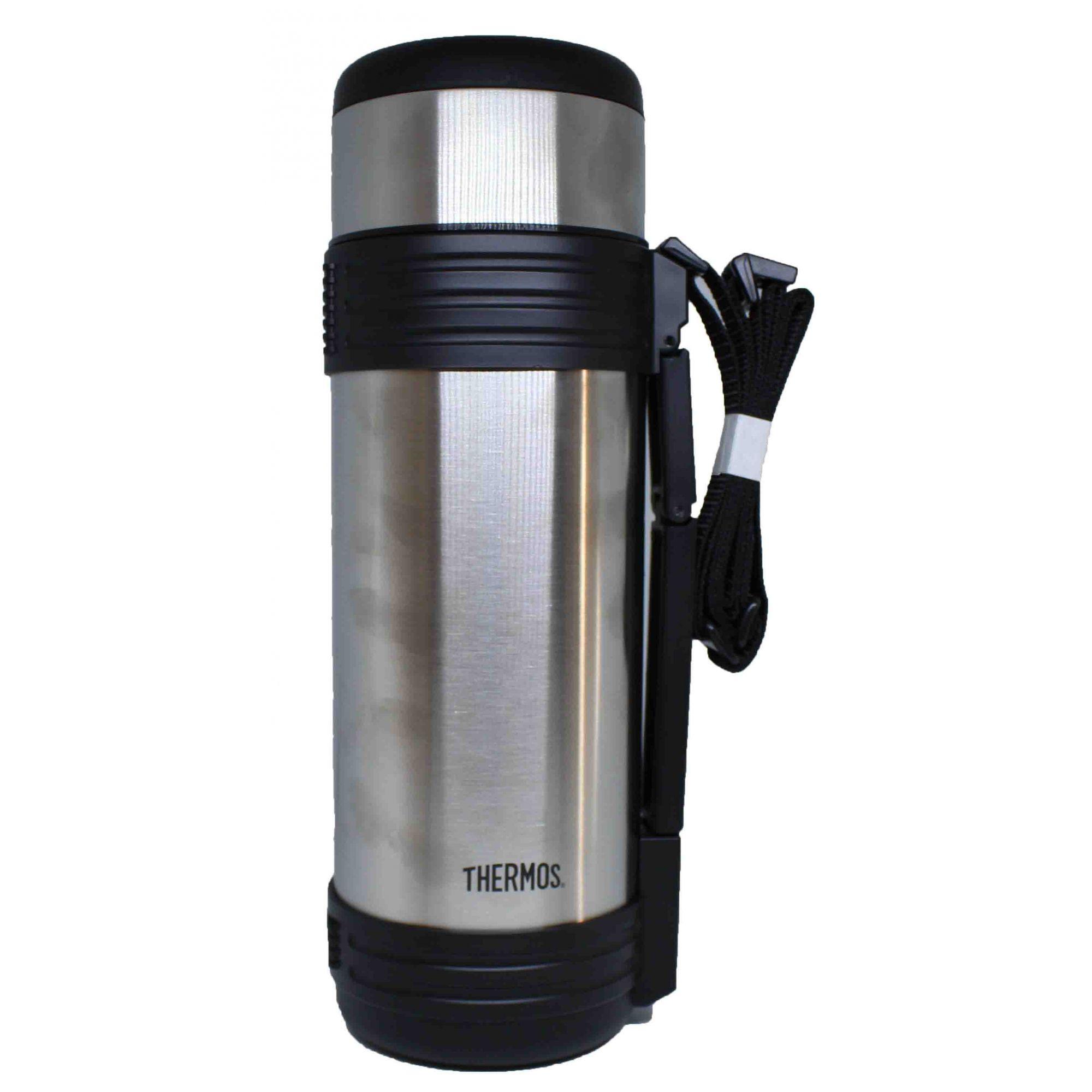 Garrafa Térmica K2 Prata (24h Quente ou Gelado)