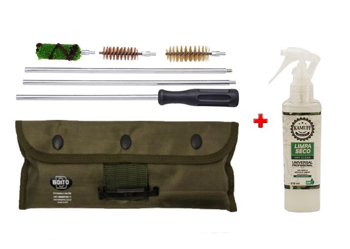 Kamuff Absoluto + Kit Limpeza Boito Para Armas Cal.12