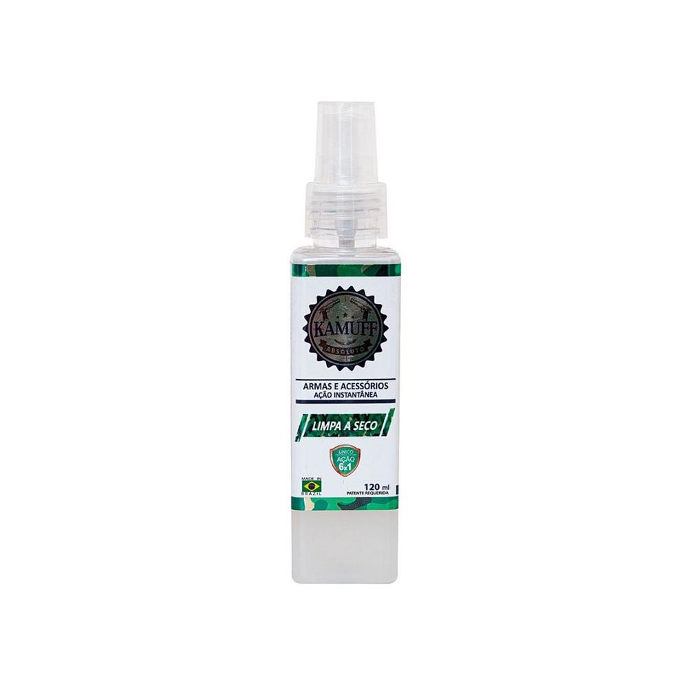 Kamuff Absoluto Spray de Limpeza Armas e Acessórios 120ml
