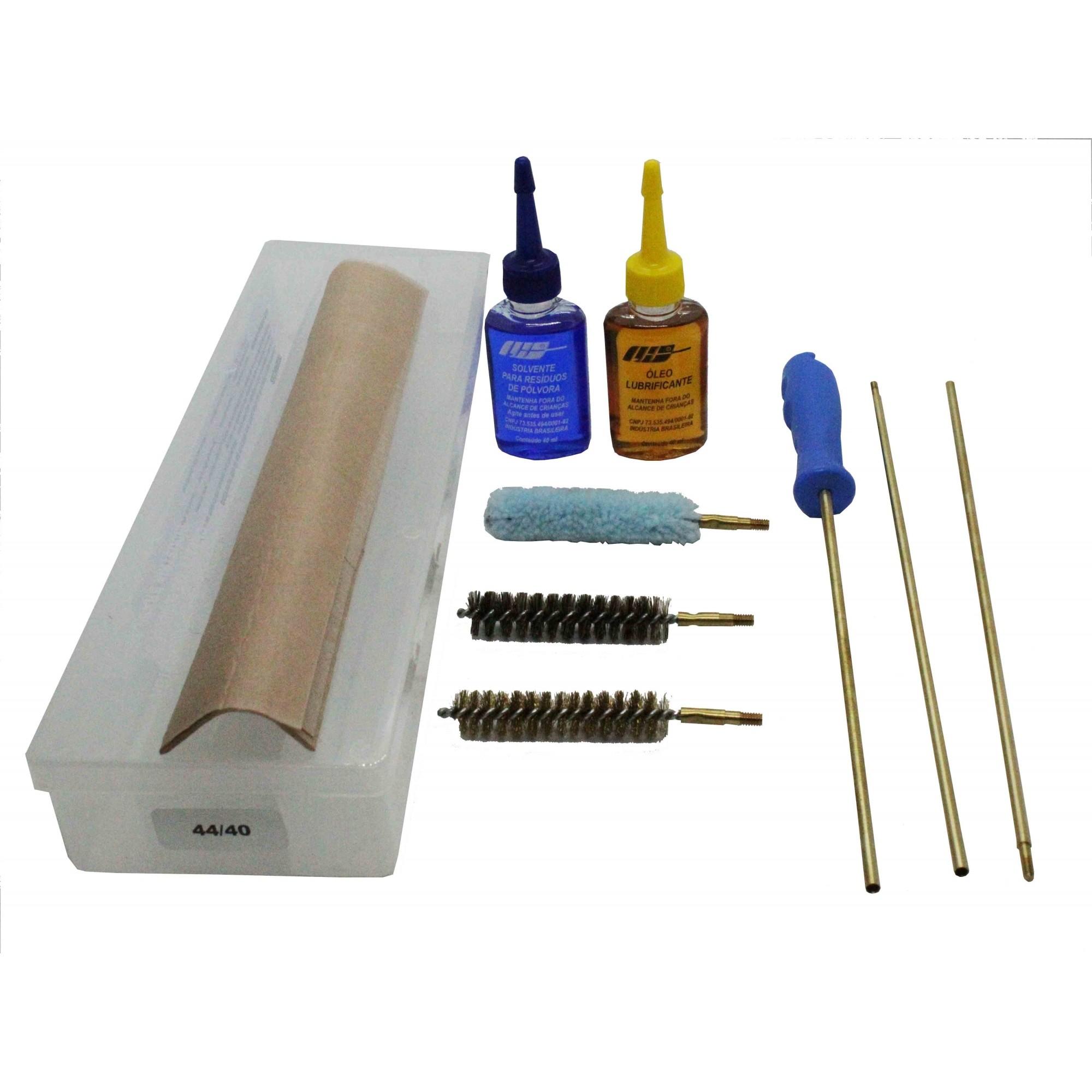 Kit de Limpeza LH Para Espingarda Calibre 40