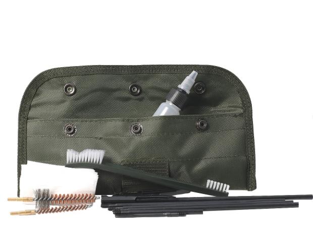 Kit de Limpeza Para Carabinas e Airsoft .22 5.5mm e 6mm 11 Peças