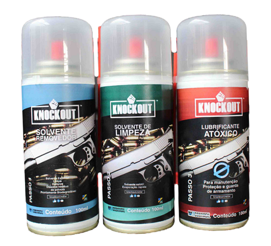 Kit Limpeza e Manutenção Completo Para Armas Cal.20