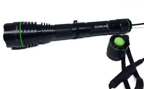 Lanterna Infravermelho 38mm 850nm Para Caça +bat