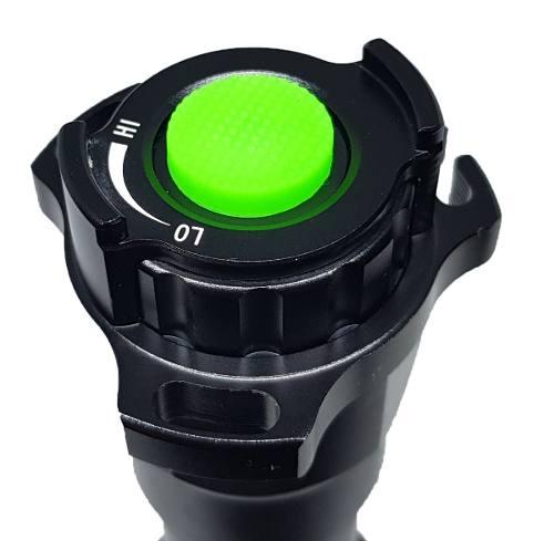 Lanterna Infravermelho De Caça + Bateria E Dimmer 38mm