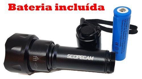 Lanterna Infravermelho T20 5w 850nm Com Bateria