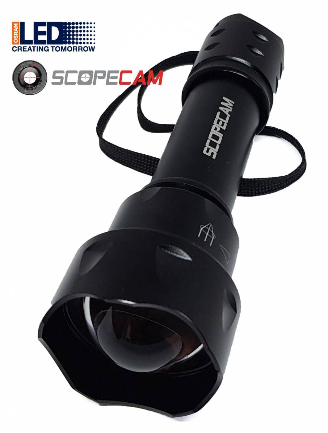 Lanterna Infravermelho T20 5w 940nm Com Bateria