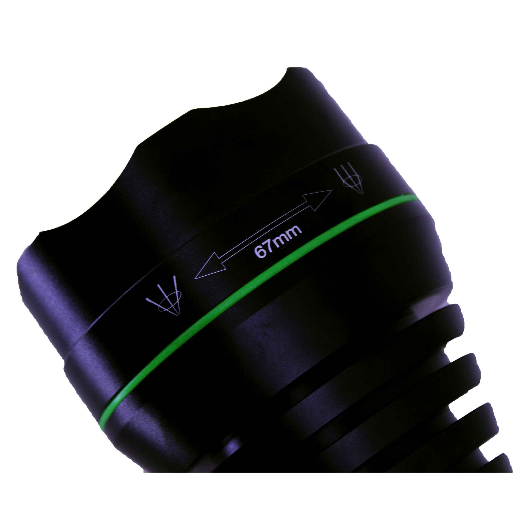 Lanterna Infravermelho Visão Noturna T67 10w 940 nm