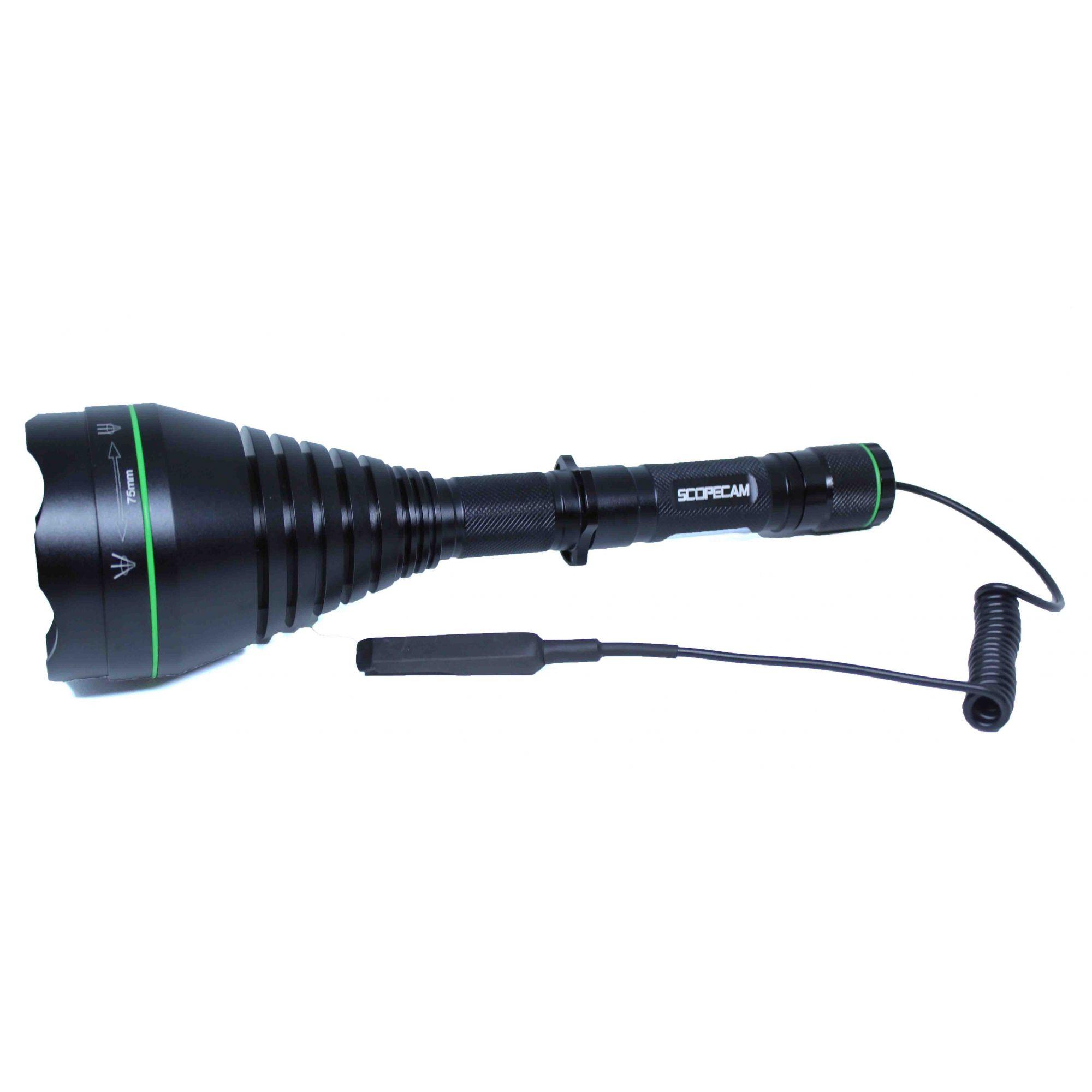 Lanterna Infravermelho Visão Noturna T75 10w 850nm