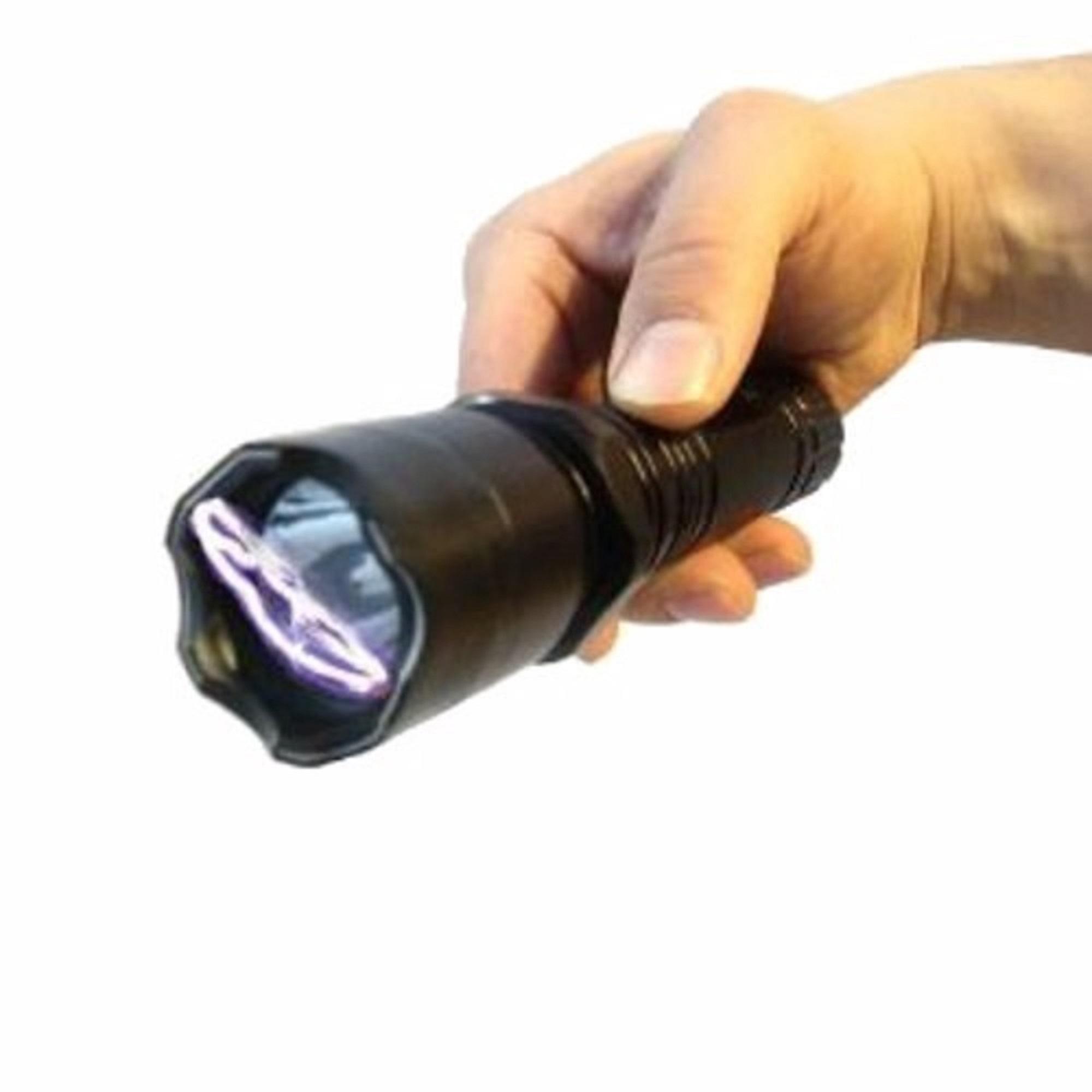 Lanterna com Maquina de Choque 1101 Recarregável