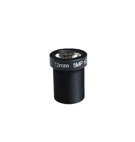"""Lente 12mm Cctv Com 5 Megapixels 1/2.5"""""""