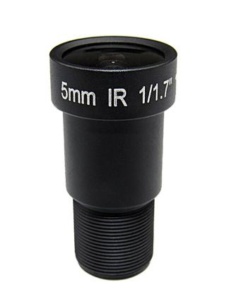 Lente 5 mm 4k 12mp M12 1/1 cctv  Visão Noturna