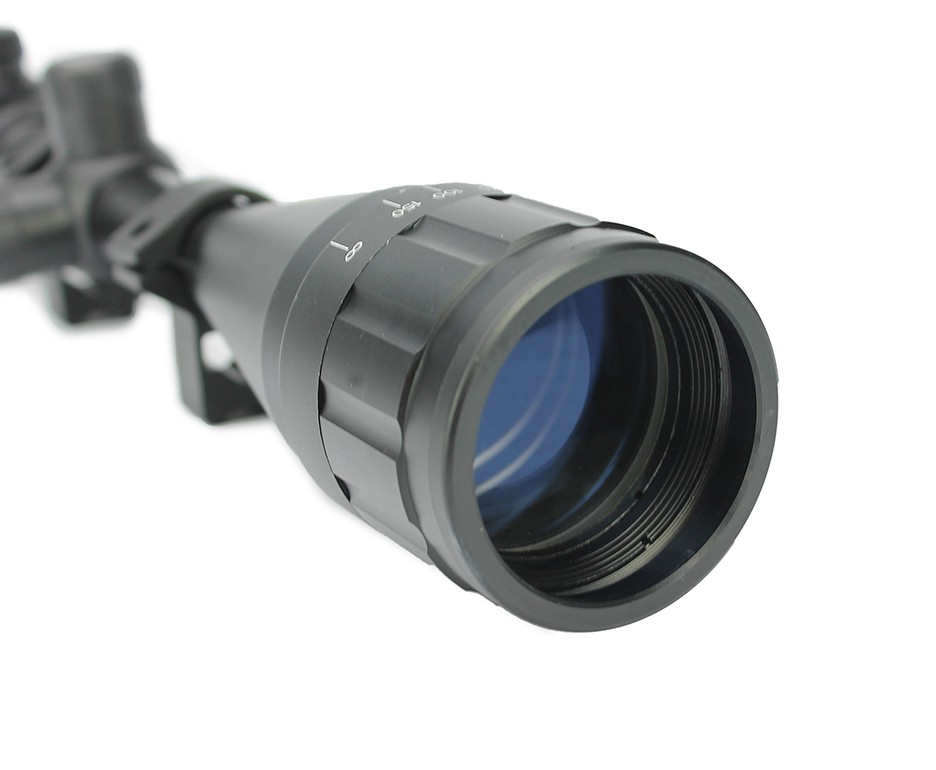 Luneta 3-9x40 AOE Ajuste Parallax Suporte Mount 11mm FXR