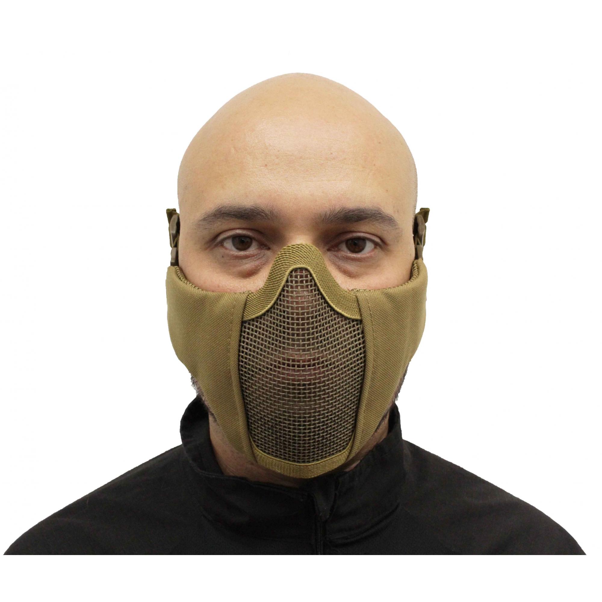 Máscara Airsoft Meia Face Confort Almofadada