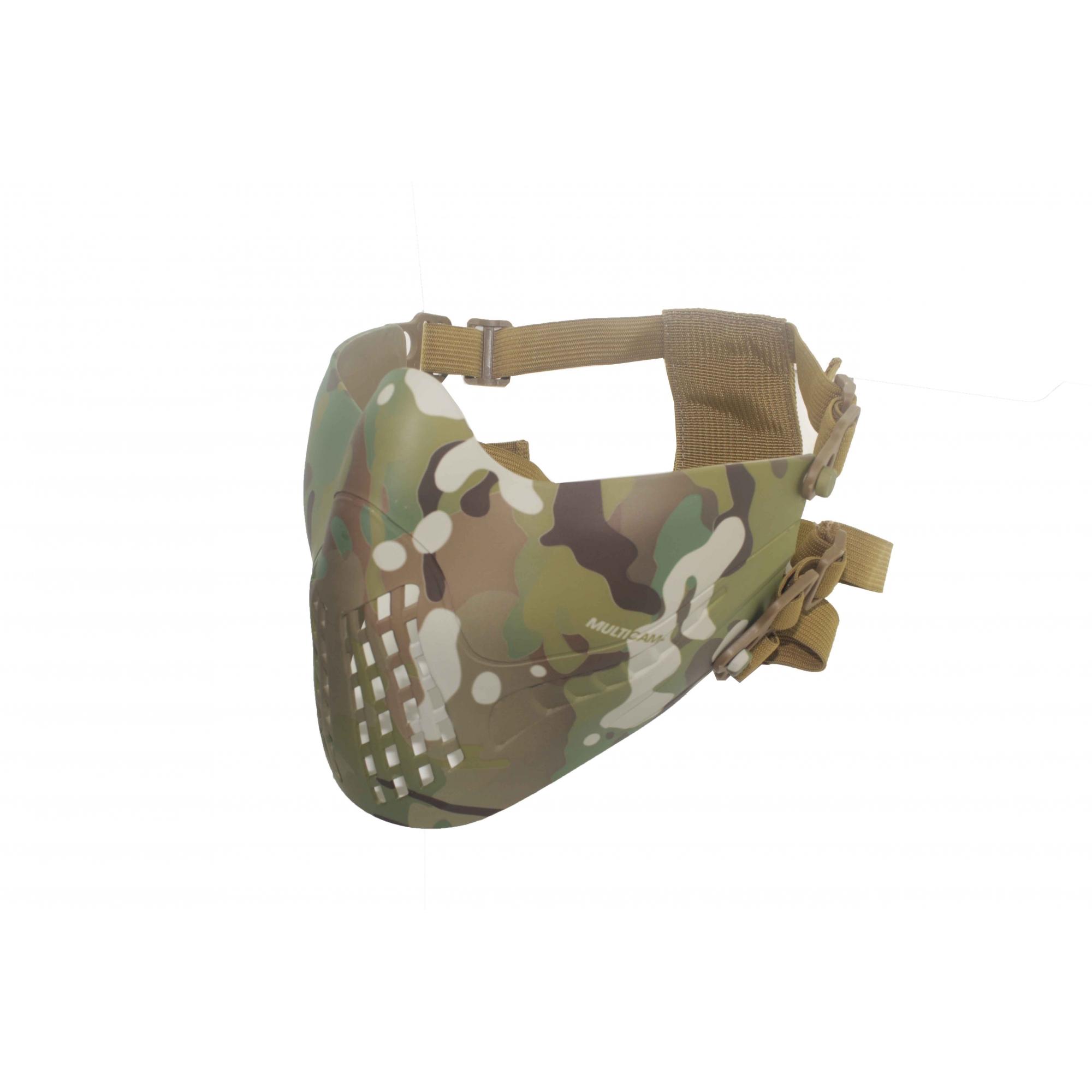 Máscara Airsoft Pilot Multicam