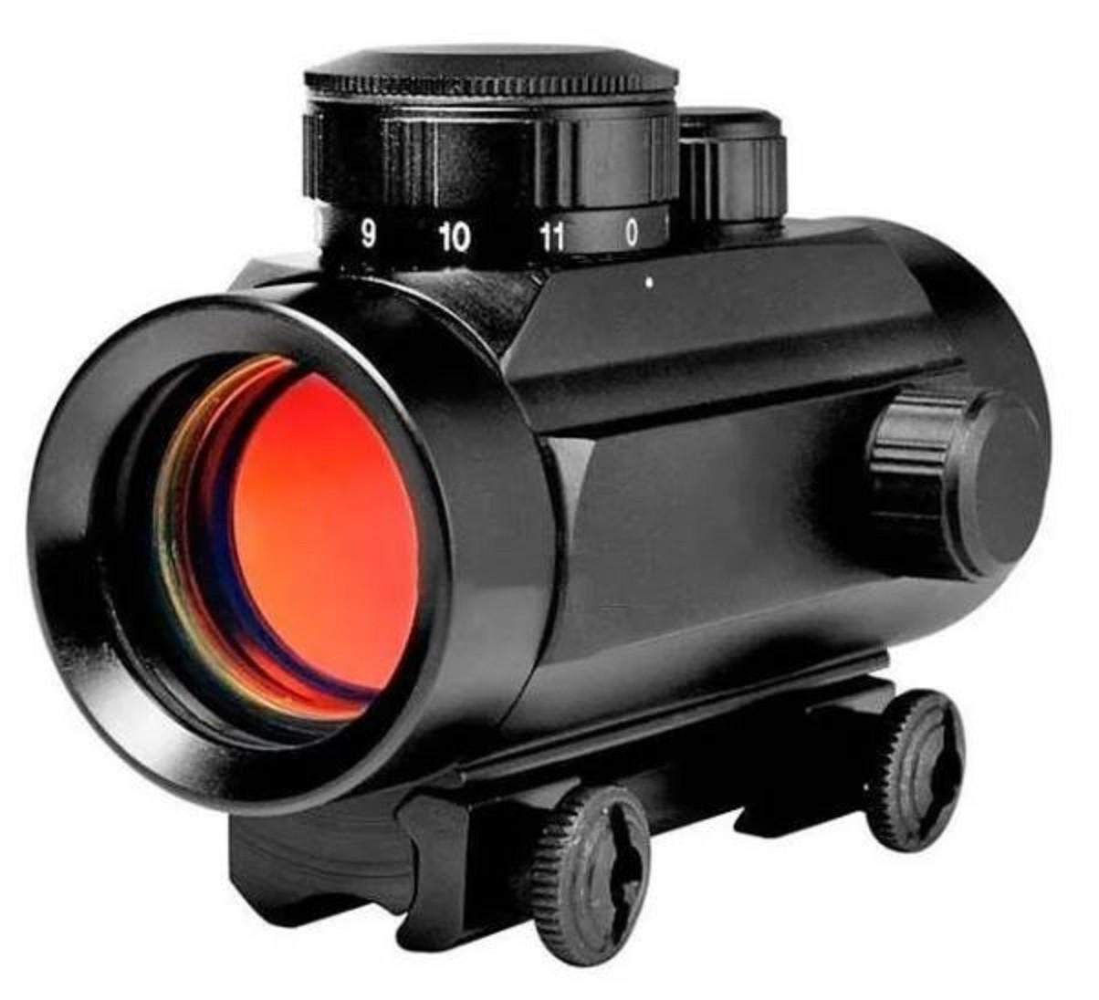 Mira Red Dot Para Carabina Trilho 11mm - Cbc