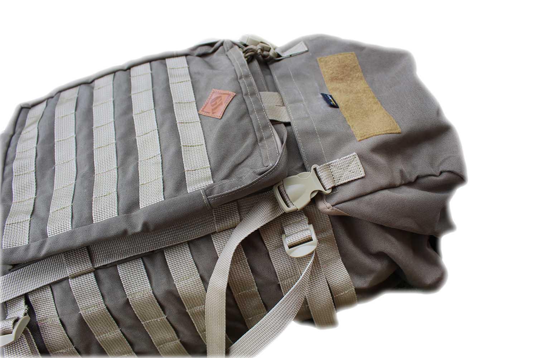 Mochila Militar Cargueira 55 litros em cordura TAN