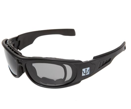 Óculos Tático de Airsoft Sierra Preto Evo Tactical