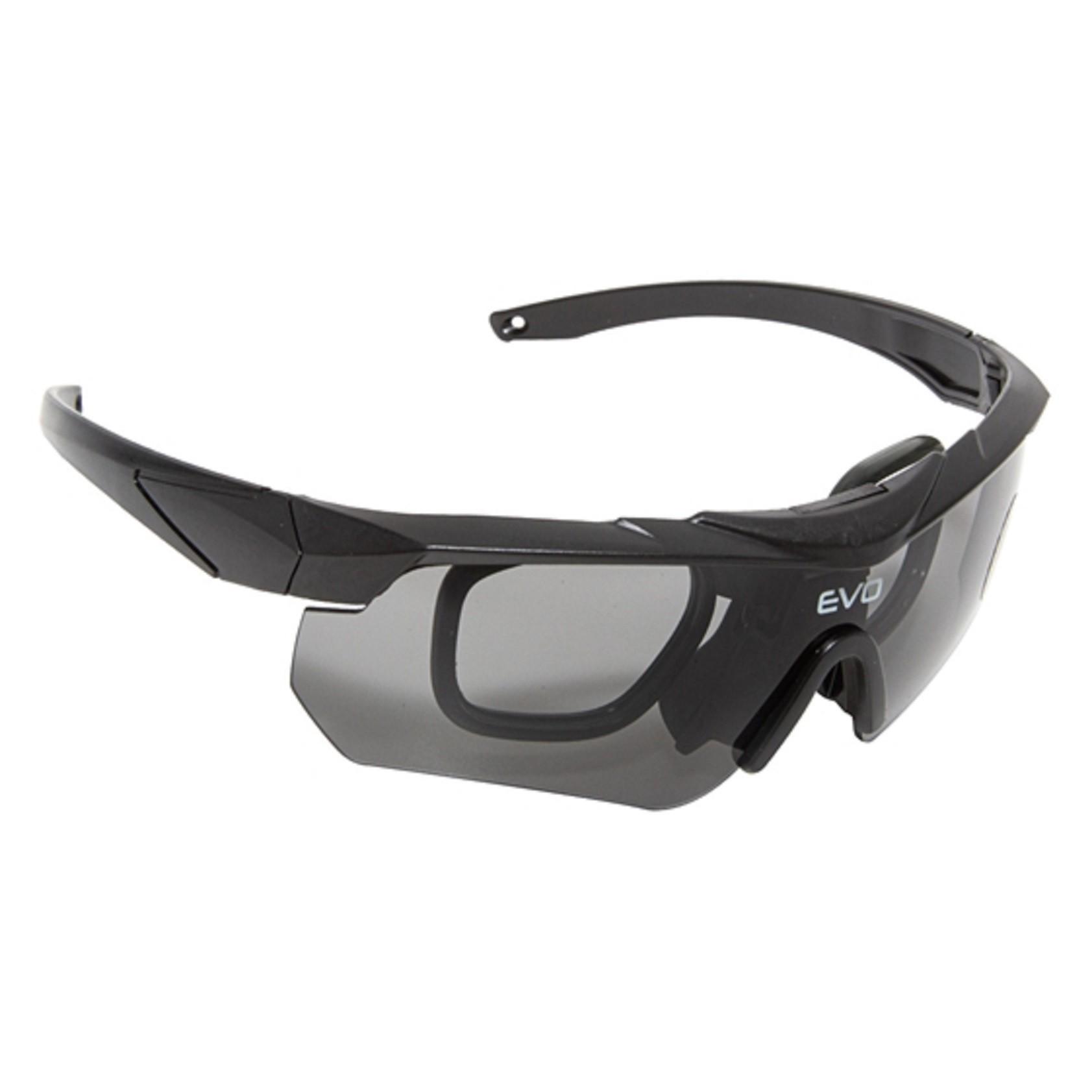 Óculos Tático Militar Nighthawk Preto Evo Tactical Airsoft