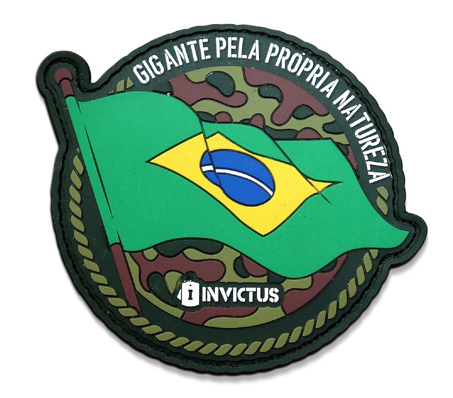 Patch Invictus Bioma Brasil