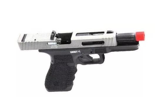 Pistola Airsoft Co2 e GBB - Skyway Secutor Gladius 17 Acta Non Verba Stone