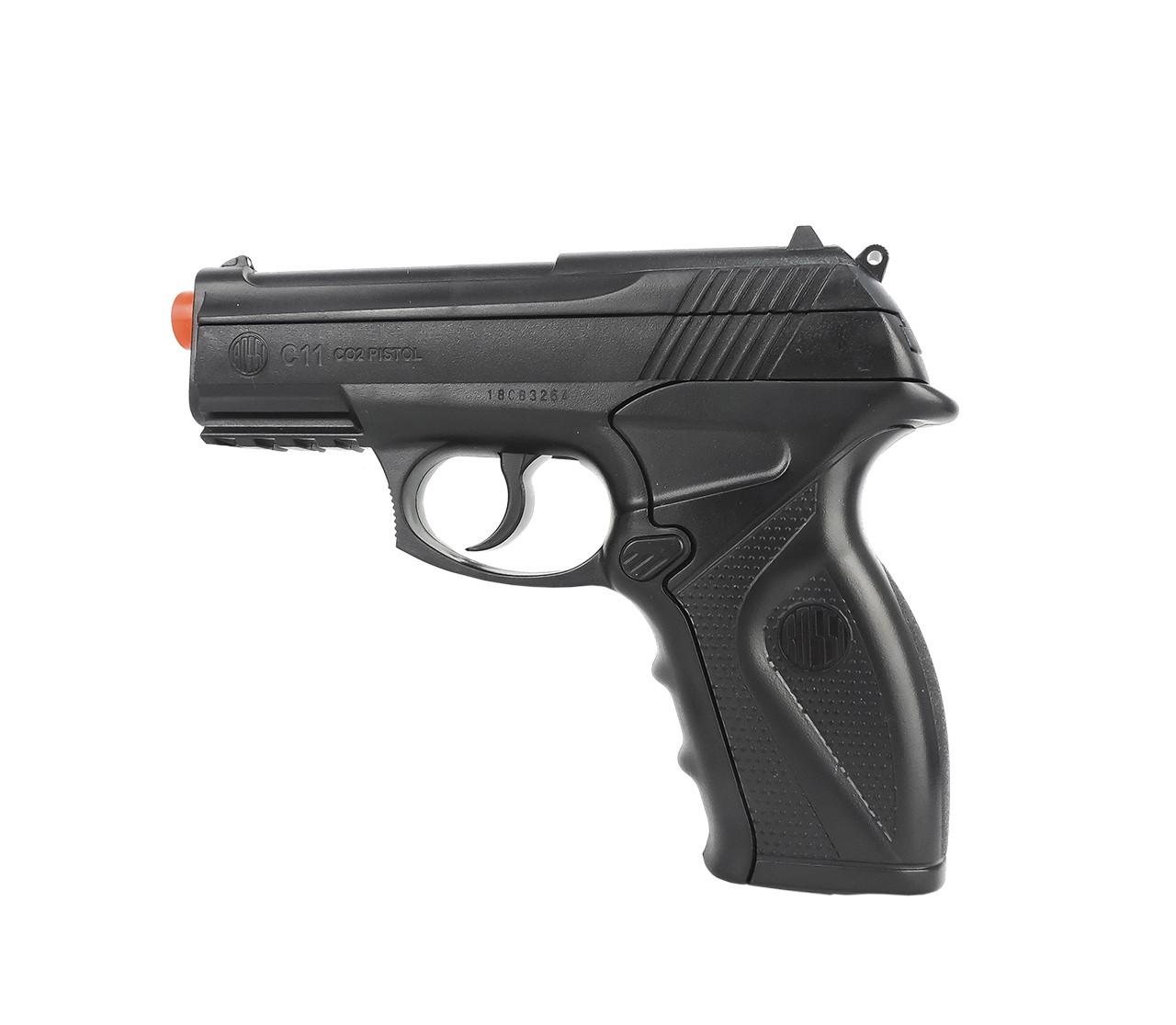Pistola Airsoft Co2 Wingun C11 6mm Airsoft