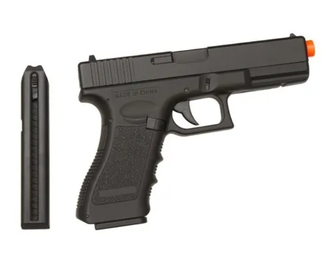 Pistola Airsoft Elétrica Cyma Cm030 Glock