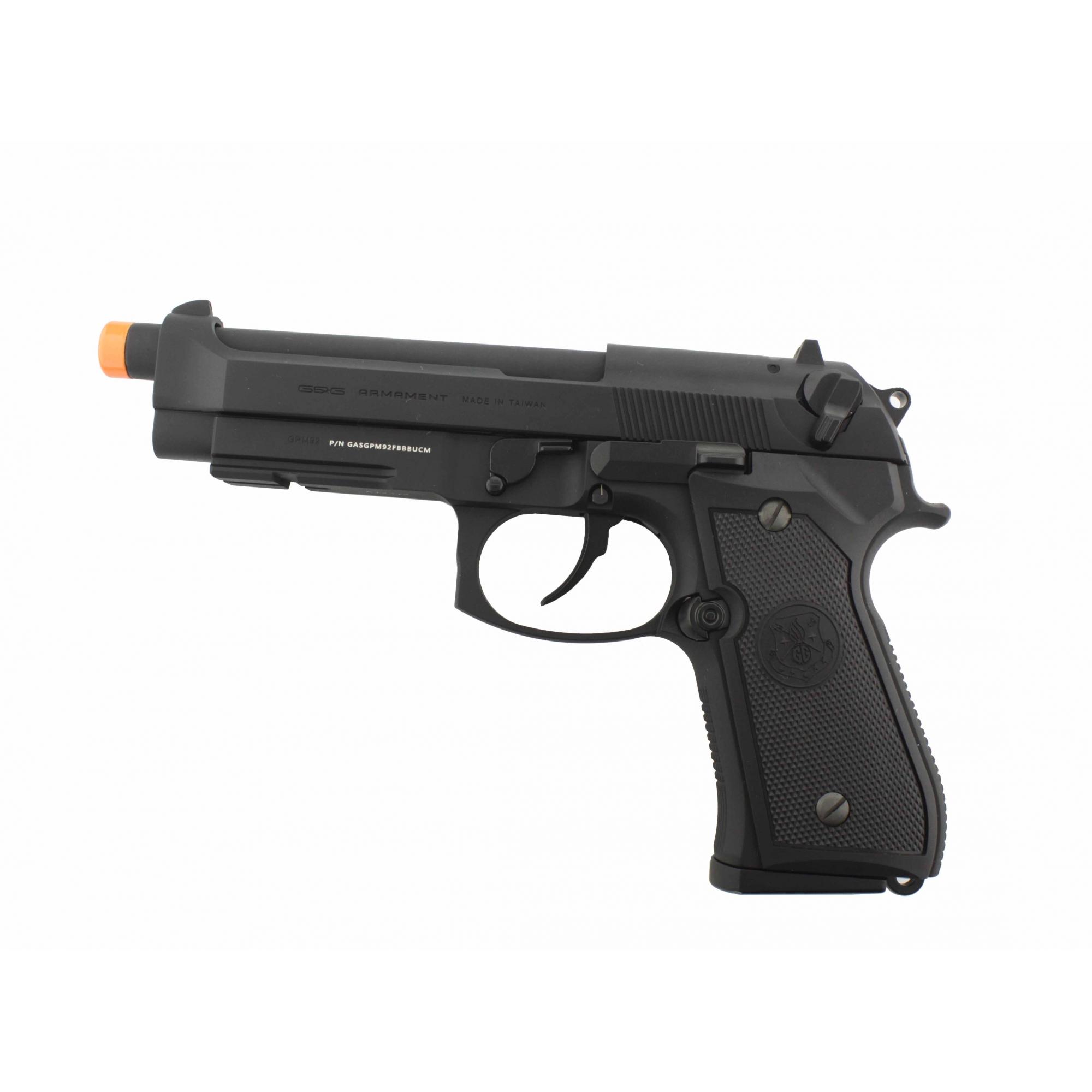 Pistola Airsoft G&G GBB GPM92-C1 Full Metal