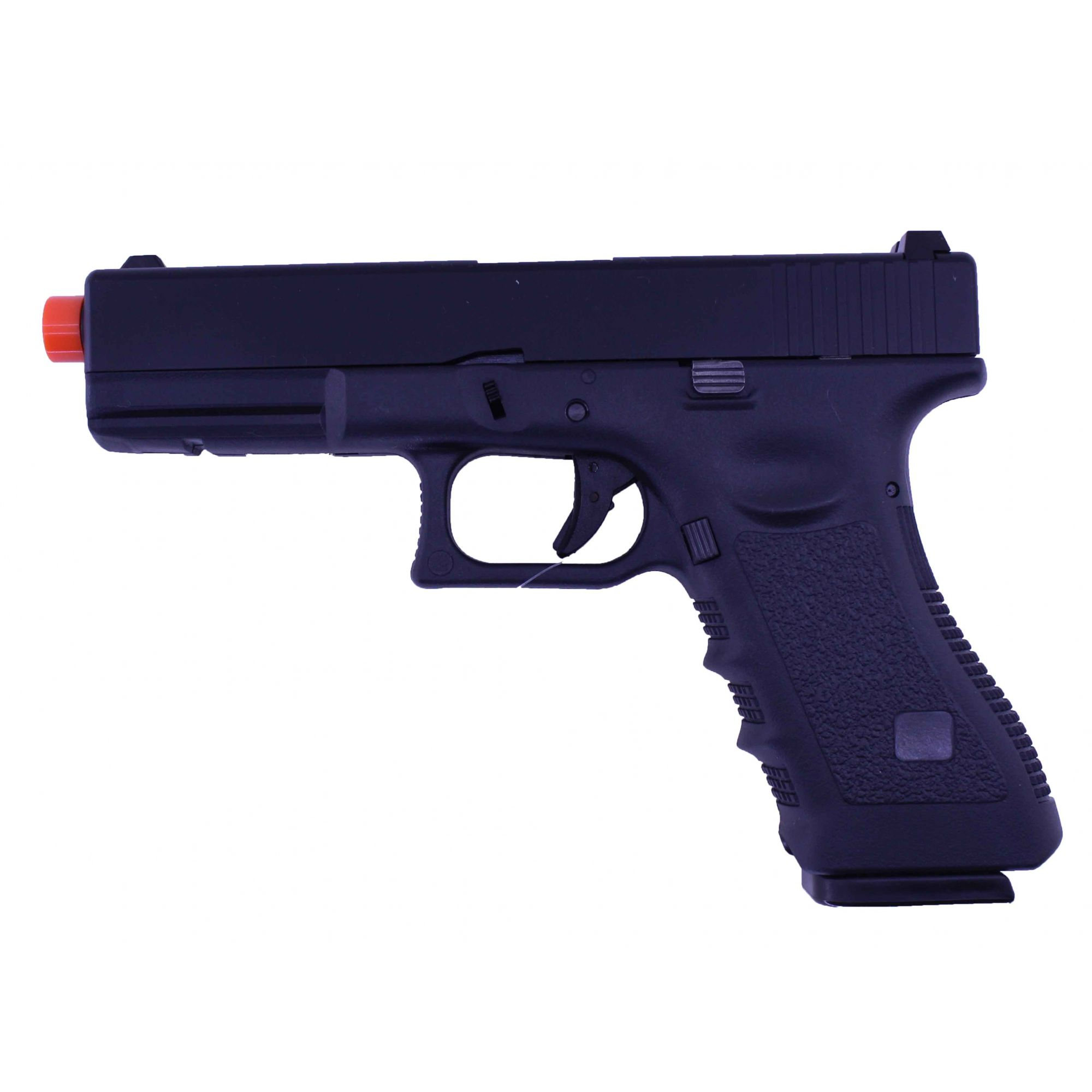 Pistola Airsoft GBB R17 Black Blowback 6mm