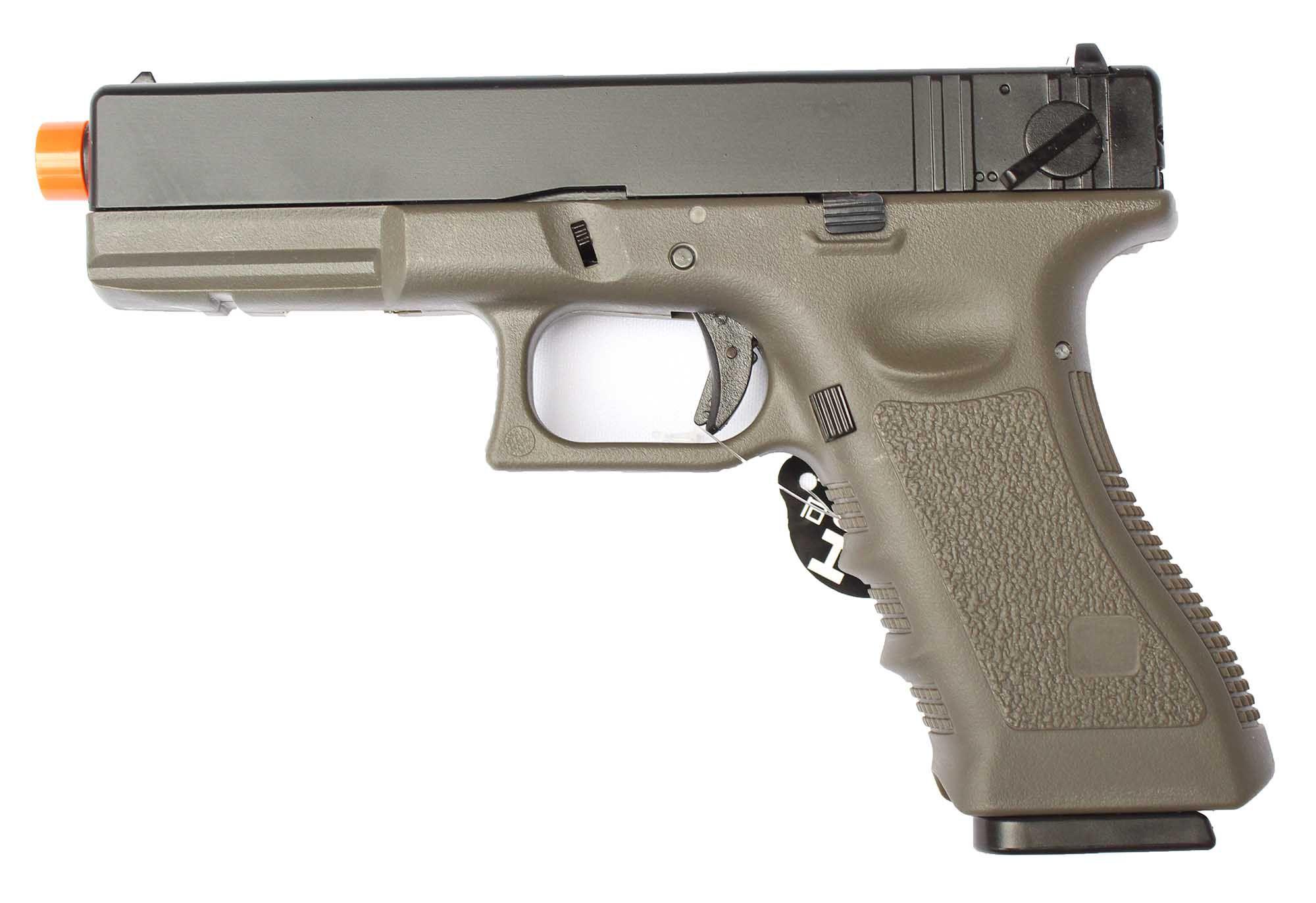 Pistola Airsoft GBB R18 OD Blowback 6mm