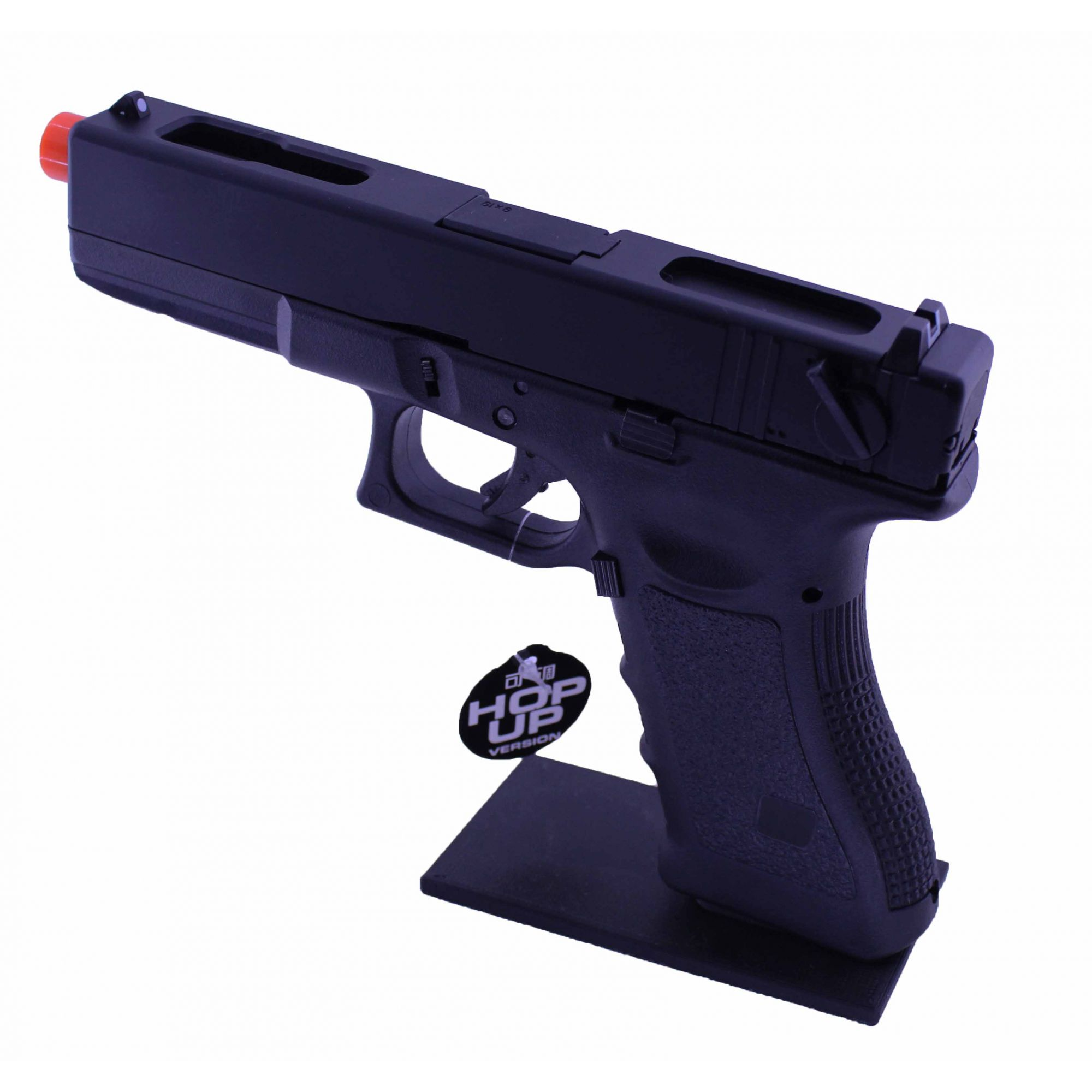 Pistola Airsoft GBB R18 Semi/Auto BK Blowback 6mm