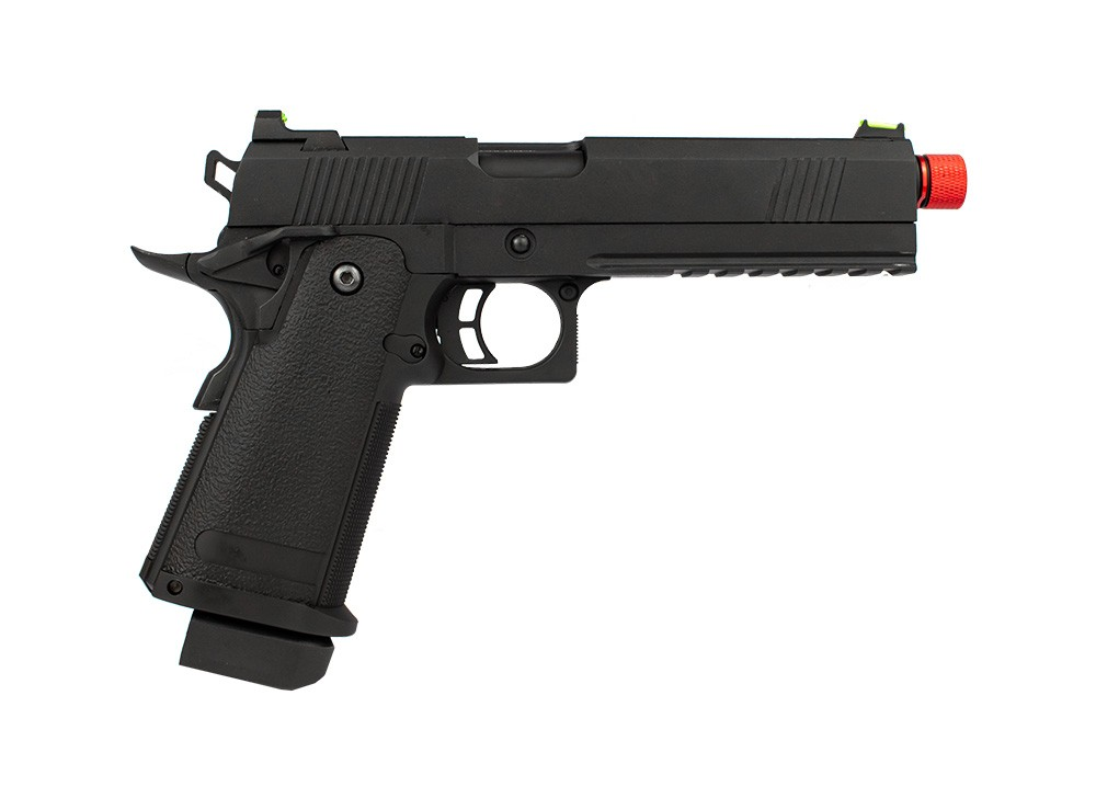 Pistola Airsoft GBB Rossi 1911 6mm Black Devil