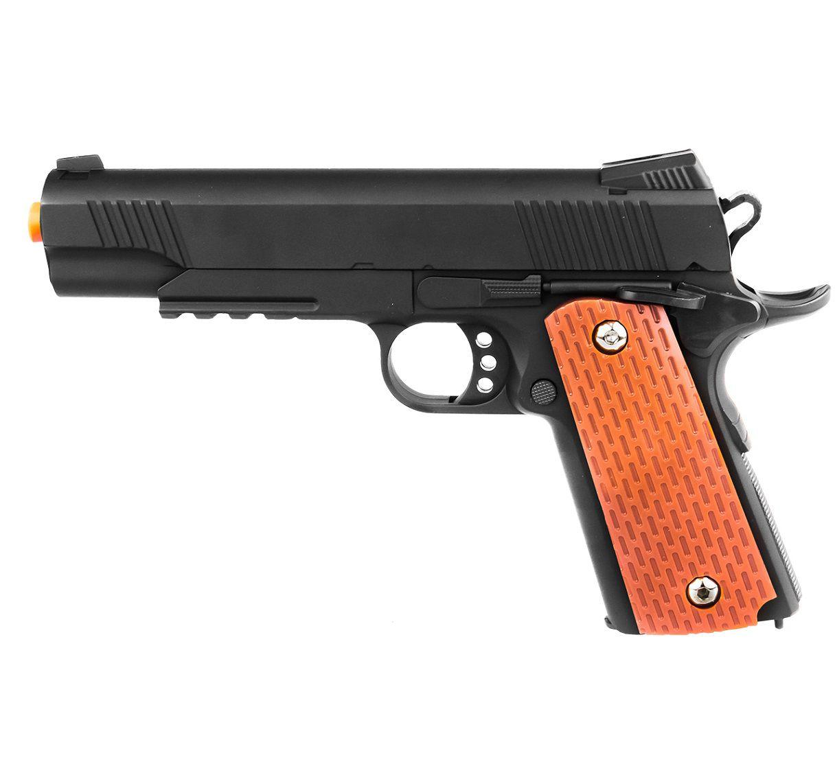 Pistola Airsoft Spring VG 1911-V13 Metal Mola