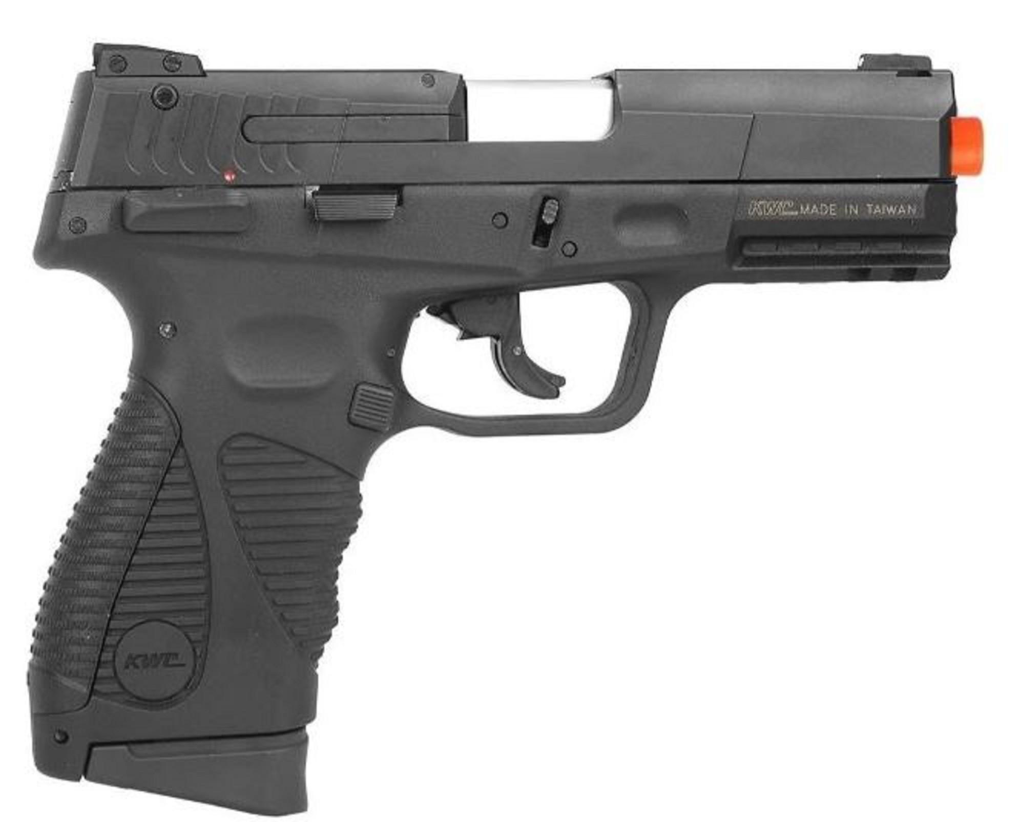 Pistola de Pressão KWC 24/7 Slide Metal CO2 4,5mm