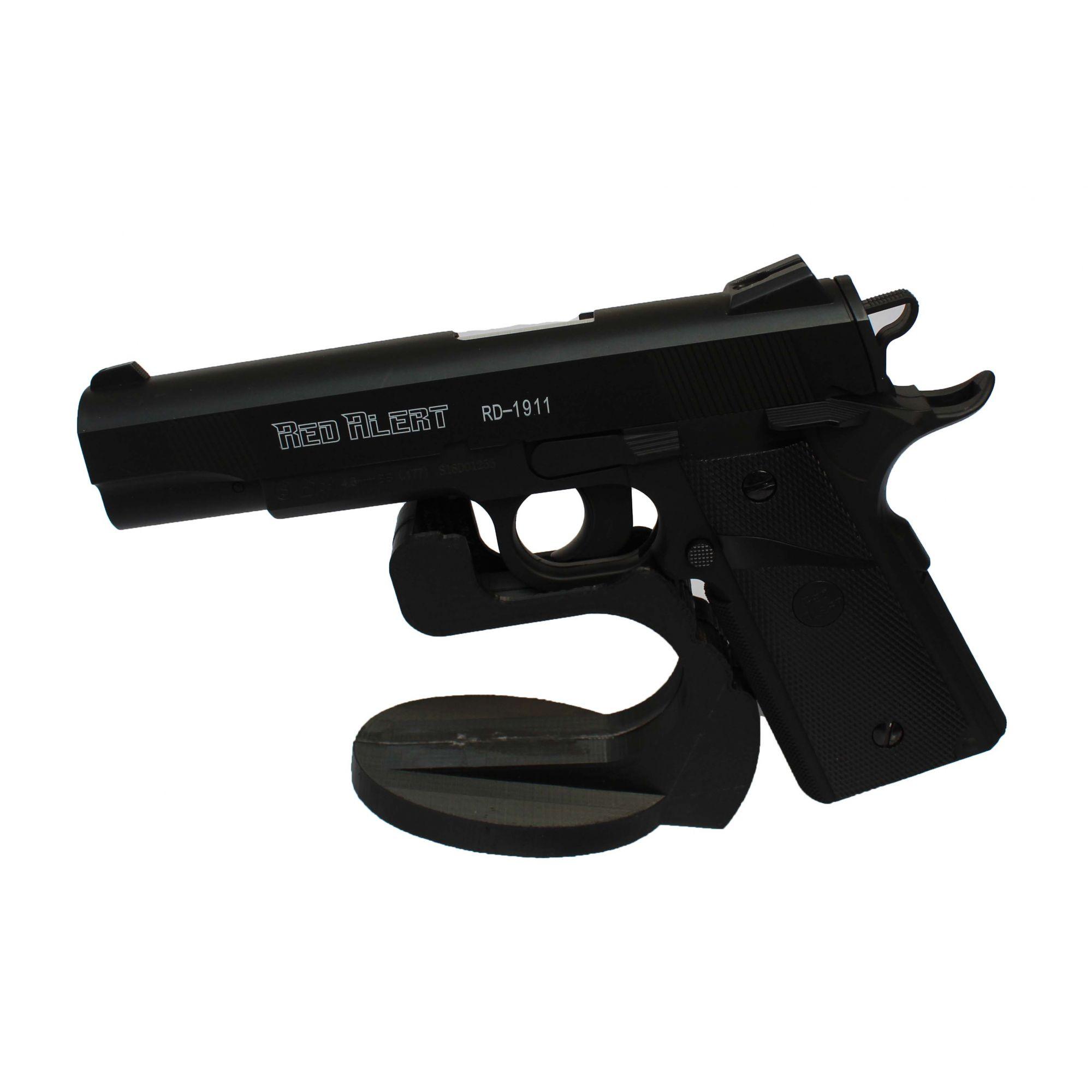 Pistola de Pressão Red Alert 1911 4,5 mm