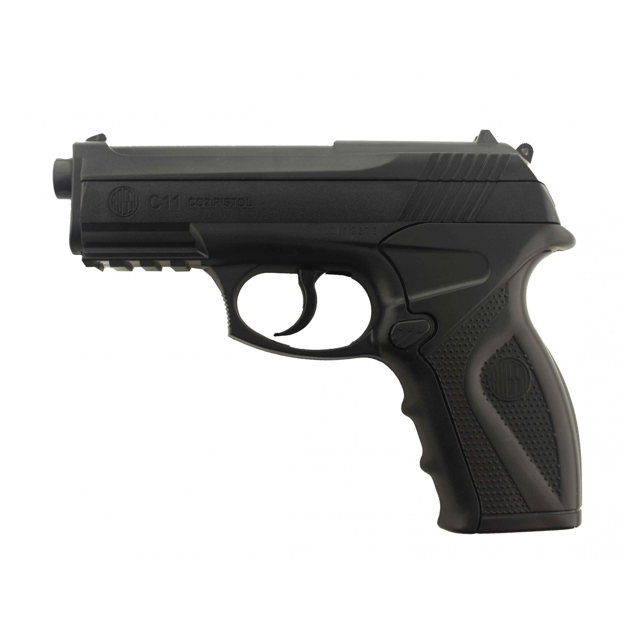 Pistola de Pressão Wingun C11 CO2 6mm Steel BB