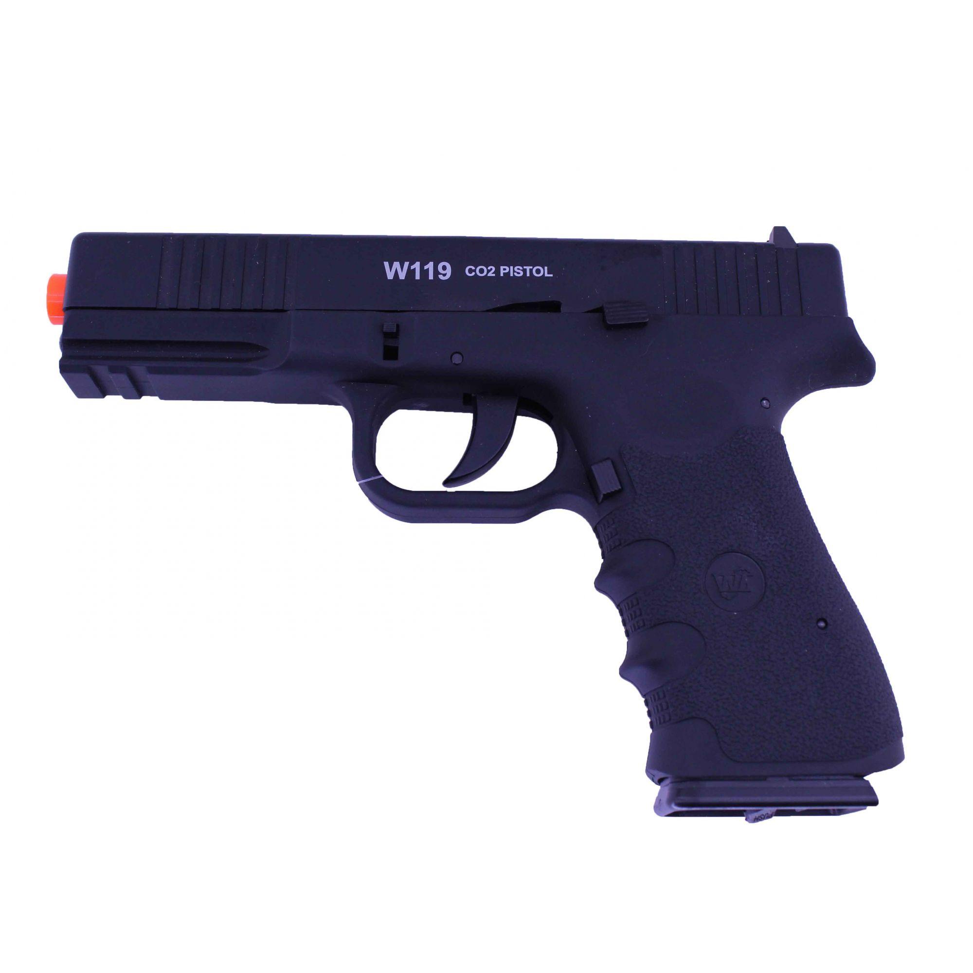 Pistola de Pressão Wingun W119 Co2 6mm
