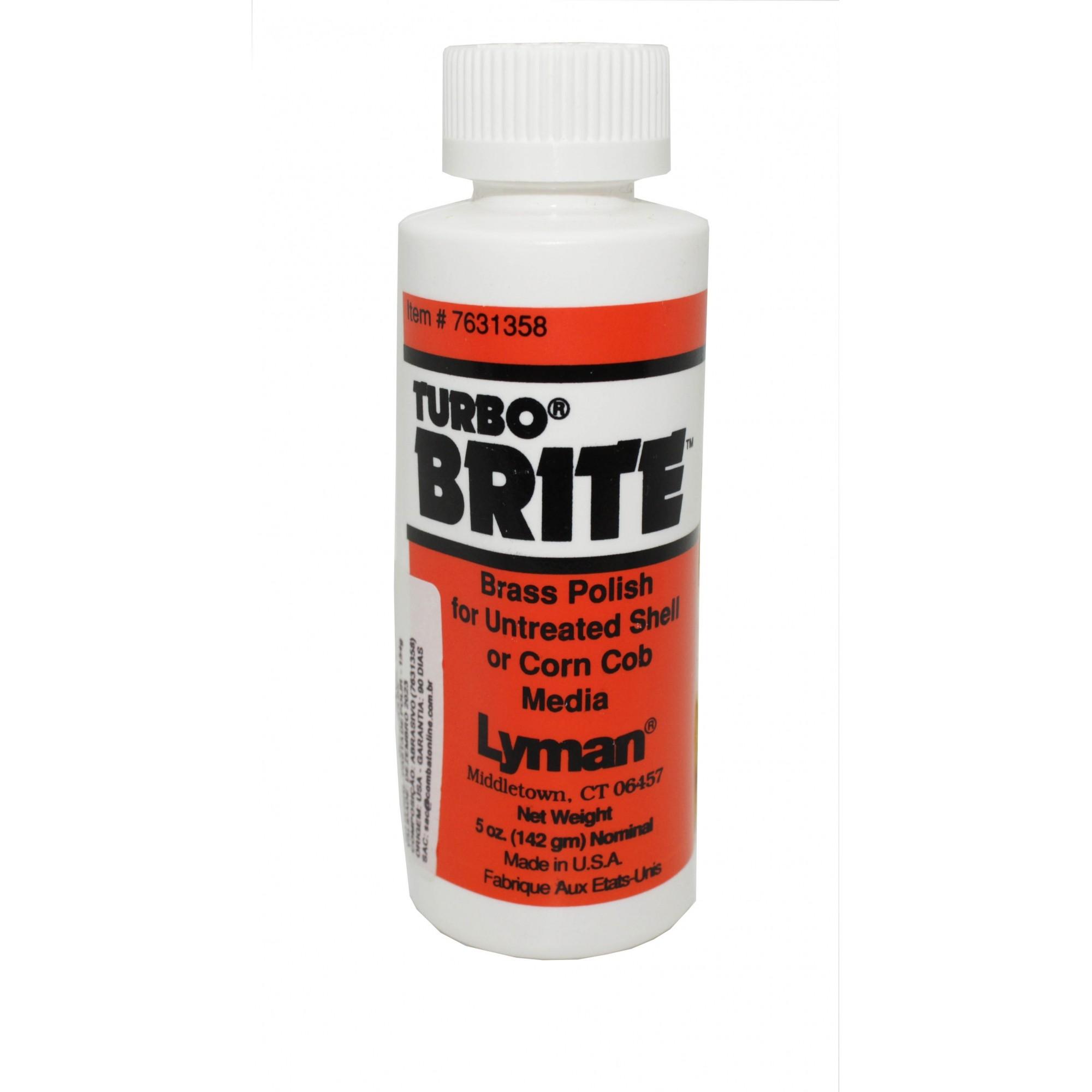 Polidor Para  Bronze Turbo Brite  Lyman