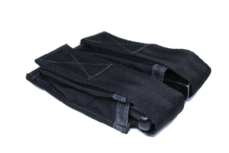 Porta Carregador de Pistola Duplo Modular Preto