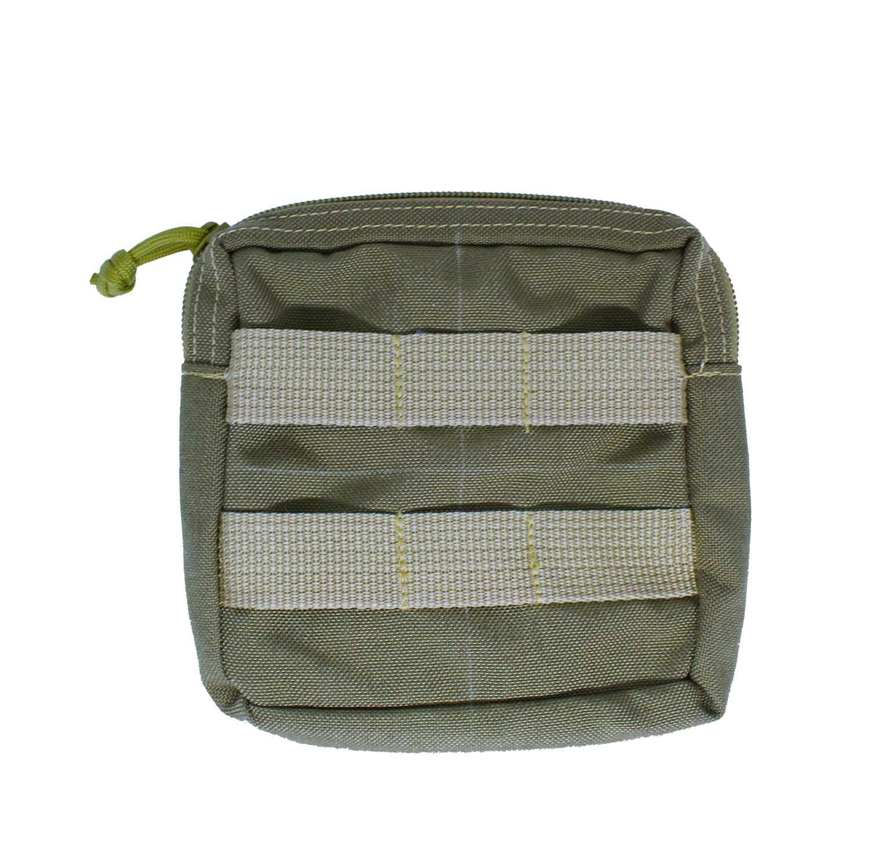Porta Carteira Modular para colete Tan