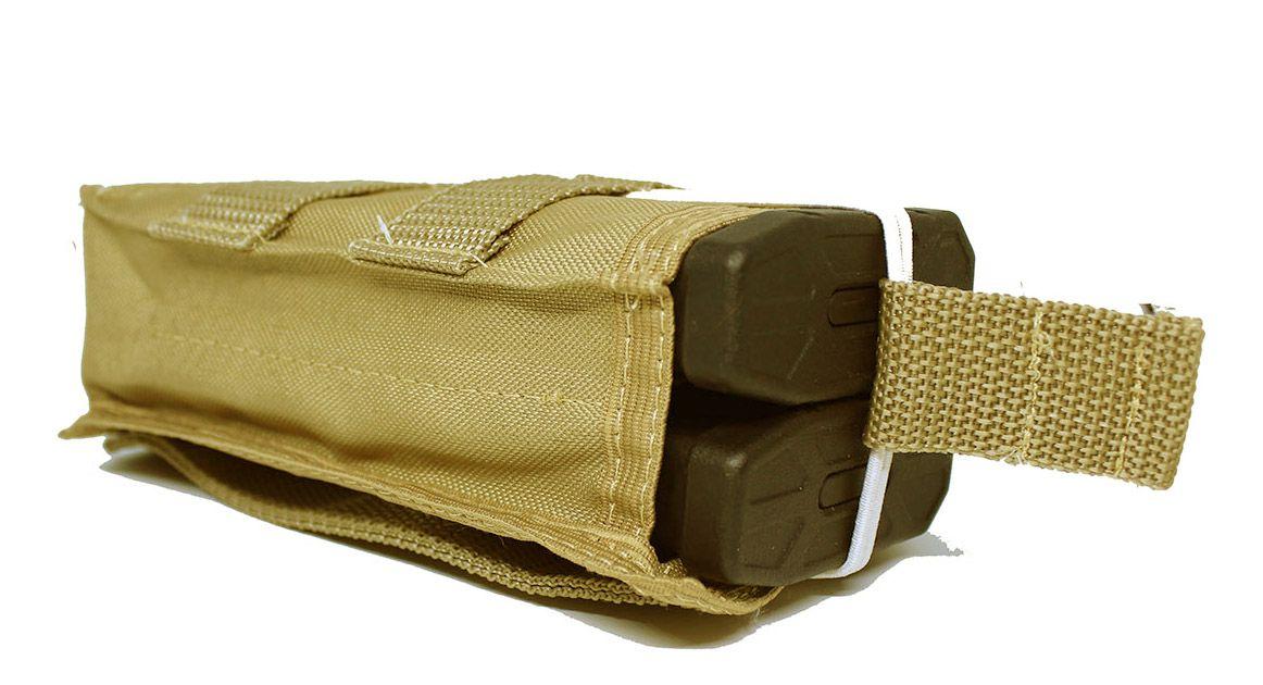 Porta Mag M4 Modular Tan duplo