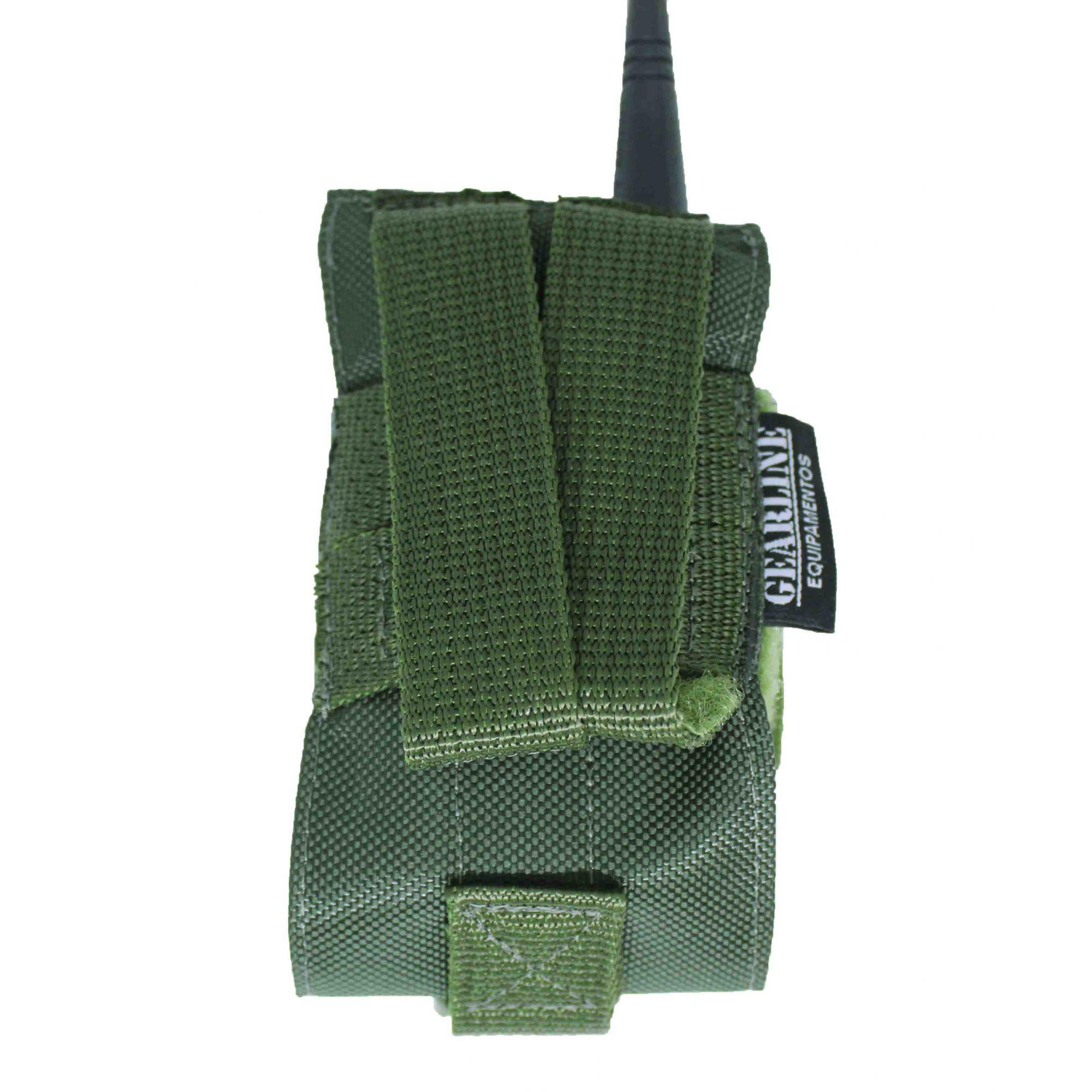 Porta Radio Modular Verde