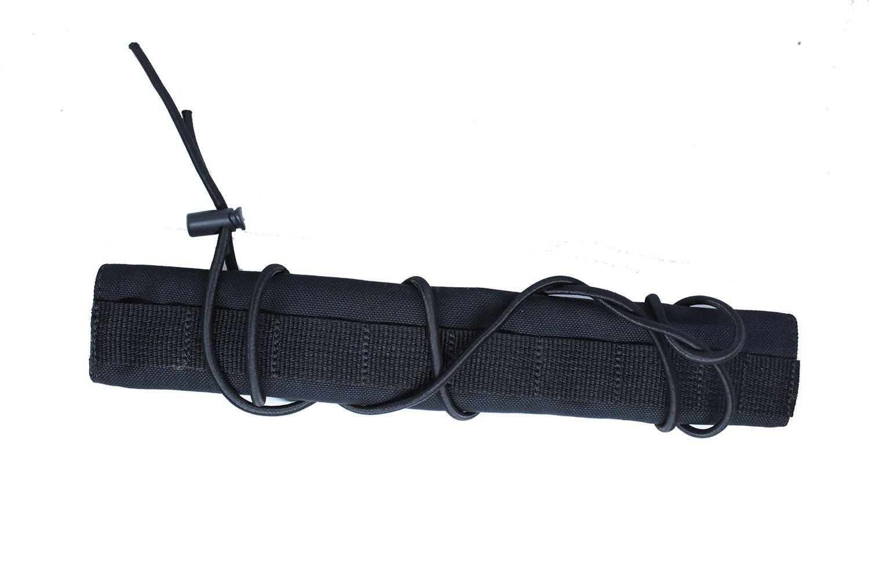 Protetor de cano silenciador de Airsoft Preto