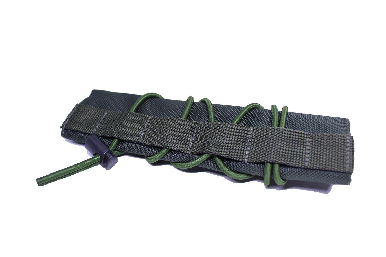 Protetor de cano silenciador de Airsoft Verde